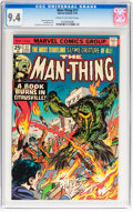 Bronze Age (1970-1979):Horror, Man-Thing #17 (Marvel, 1975) CGC NM 9.4 Cream to off-whitepages....
