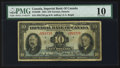 Canadian Currency: , Toronto, ON- Imperial Bank of Canada $10 Nov. 1, 1934 Ch. #375-22-08. ...