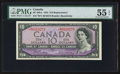Canadian Currency: , BC-40bA $10 1954 Replacement Note with *B/V Prefix. ...