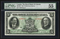 Canadian Currency: , Montreal, PQ- The Royal Bank of Canada $5 Jan. 3, 1927 Ch. #630-14-04. ...
