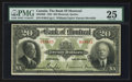 Canadian Currency: , Montreal, PQ- The Bank of Montreal $20 Jan. 2, 1923 Ch. # 505-56-06. ...