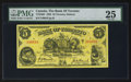 Canadian Currency: , Toronto, ON- The Bank of Toronto $5 Jan. 2, 1937 Ch. # 715-24-04. ...