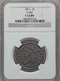 Large Cents, 1811 1C S-287, B-1, R.2 Fine 12 NGC. NGC Census: (0/0). PCGSPopulation (0/8)....