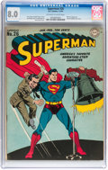 Golden Age (1938-1955):Superhero, Superman #26 (DC, 1944) CGC VF 8.0 Off-white to white pages....