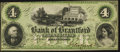 Canadian Currency: , Brantford, CW- The Bank of Brantford $4 Nov. 1, 1859 Ch. #40-10-04-06. ...