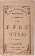 Books:Americana & American History, [Americana] [George Coolidge] The Baby Dear. Degen &Estes, [n.d.]. Publisher's printed wrappers, string bound, ...