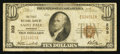 National Bank Notes:Minnesota, Saint Paul, MN - $10 1929 Ty. 1 The First NB Ch. # 203. ...