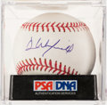Autographs:Baseballs, Dave Winfield Single Signed Baseball PSA Gem Mint 10....