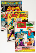 Silver Age (1956-1969):Superhero, Batman and Superman-Related Group (DC, 1963-72) Condition: Average VG+.... (Total: 13 Comic Books)