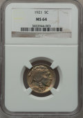 Buffalo Nickels: , 1921 5C MS64 NGC. NGC Census: (215/198). PCGS Population (327/437).Mintage: 10,663,000. Numismedia Wsl. Price for problem ...