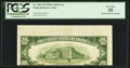 Error Notes:Miscellaneous Errors, Fr. 2011-D $10 1950A Federal Reserve Note. PCGS Very Fine 35.. ...