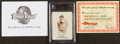 "Baseball Cards:Singles (1970-Now), 2008 Topps Vault First Edition ""Allen & Ginter's"" Mickey Mantle #7 Blank Back. ..."