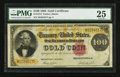 Large Size:Gold Certificates, Fr. 1214 $100 1882 Gold Certificate PCGS Very Fine 25.. ...