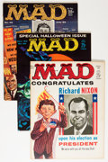 Magazines:Mad, Mad Magazine #51-60 Group (EC, 1959-61) Condition: AverageFN/VF.... (Total: 10 Comic Books)