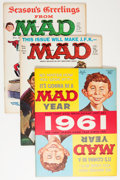 Magazines:Mad, Mad Magazine #61-70 Group (EC, 1961-62) Condition: Average VF.... (Total: 10 Comic Books)