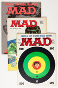Magazines:Mad, Mad Magazine #71-100 Group (EC, 1962-66) Condition: Average FN+....(Total: 30 Comic Books)