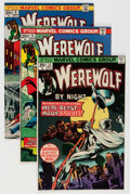 Bronze Age (1970-1979):Horror, Werewolf by Night Group - Savannah pedigree (Marvel, 1973-77)Condition: Average NM-.... (Total: 28 Comic Books)