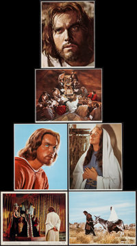 """King of Kings (MGM, 1961). Color and Black & White Photos (11) (8"""" X 10""""). Historical Drama. ... (Total: 1..."""