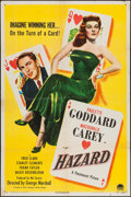 """Movie Posters:Comedy, Hazard (Paramount, 1948). One Sheet (27"""" X 41""""). Comedy.. ..."""