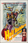"Movie Posters:War, Hell Riders of the Deep (I.F.E. Releasing Corporation, 1953). OneSheet (27"" X 41""). War.. ..."