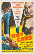 "Movie Posters:Crime, Hot Cars (United Artists, 1956). One Sheet (27"" X 41""). Crime.. ..."