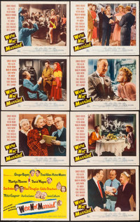 """We're Not Married (20th Century Fox, 1952). Lobby Card Set of 8 (11"""" X 14""""). Comedy. ... (Total: 8 Items)"""