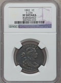 Large Cents, 1802 1C S-236, B-16, R.1 -- Burnished -- NGC Details. XF. PCGSPopulation (0/3)....