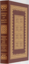 Books:Americana & American History, James Carville and Paul Begala. LIMITED/SIGNED. Take It Back.Our Party, Our Country, Our Future. Easton Press, ...