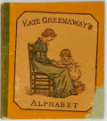 Books:Children's Books, [Americana] [Kate Greenaway] Miniature Book Kate Greenaway'sAlphabet. George Routledge & Sons, [no date]. Each ...