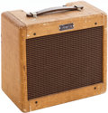 Musical Instruments:Amplifiers, PA, & Effects, 1960 Fender Champ Tweed Guitar Amplifier. ...