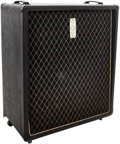 Musical Instruments:Amplifiers, PA, & Effects, 1960's Vox 1 X 15 Black Speaker Cabinet....