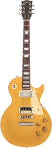 Musical Instruments:Electric Guitars, 1982 Gibson 30th Anniversary Les Paul Standard Gold Top Solid BodyElectric Guitar, Serial # A 0204....