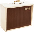 Musical Instruments:Amplifiers, PA, & Effects, 1960 Gibson GA-8 Gibsonette White Guitar Amplifier. ...