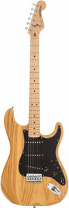 Musical Instruments:Electric Guitars, 1982 Fender Stratocaster Natural Solid Body Electric Guitar, Serial # E215223....