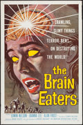 """Movie Posters:Horror, The Brain Eaters (American International, 1958). One Sheet (27"""" X 41""""). Horror.. ..."""
