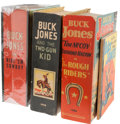 Big Little Book:Miscellaneous, Big Little Books - Buck Jones Group (Whitman, 1935-43) Condition:Average VF.... (Total: 4 Items)