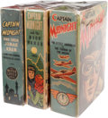 Big Little Book:Miscellaneous, Big Little Book - Captain Midnight Group (Whitman, 1942-46)Condition: Average FN/VF.... (Total: 3 Comic Books)
