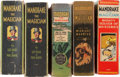 Big Little Book:Miscellaneous, Big Little Book Mandrake the Magician Related Group (Whitman,1930s) Condition: Average FN.... (Total: 5 Comic Books)