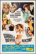 """Movie Posters:Comedy, Ghost in the Invisible Bikini (American International, 1966). One Sheet (27"""" X 41""""). Comedy.. ..."""