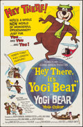 """Movie Posters:Animation, Hey There, It's Yogi Bear (Columbia, 1964). One Sheet (27"""" X 41""""). Animation.. ..."""