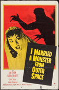 """Movie Posters:Science Fiction, I Married a Monster from Outer Space (Paramount, 1958). One Sheet(27"""" X 41""""). Science Fiction.. ..."""