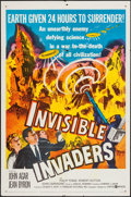 """Movie Posters:Science Fiction, Invisible Invaders (United Artists, 1959). One Sheet (27"""" X 41""""). Science Fiction.. ..."""