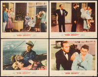 """High Society (MGM, 1956). Lobby Cards (4) (11"""" X 14""""). Musical. ... (Total: 4 Items)"""