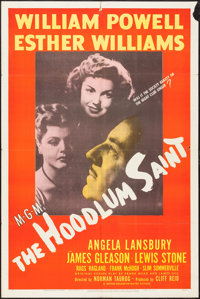 "The Hoodlum Saint (MGM, 1946). One Sheet (27"" X 41""), and Lobby Cards (3) (11"" X 14""). Drama. ... (T..."