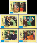 """Movie Posters:Crime, How to Steal a Million (20th Century Fox, 1966). Lobby Cards (5)(11"""" X 14""""). Crime.. ... (Total: 5 Items)"""