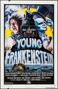 """Young Frankenstein (20th Century Fox, 1974). One Sheet (27"""" X 41"""")Style B. Comedy"""