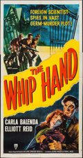"Movie Posters:Action, The Whip Hand (RKO, 1951). Three Sheet (41"" X 79""). Action.. ..."