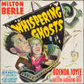 """Movie Posters:Comedy, Whispering Ghosts (20th Century Fox, 1942). Six Sheet (79"""" X 80""""). Comedy.. ..."""