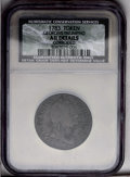 1783 TOKEN Georgivs Triumpho Token--Corroded-- NCS. AU Details. NGC Census: (0/0). PCGS Population (9/21). (#664)