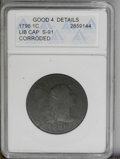 Large Cents: , 1796 1C Liberty Cap--Corroded--ANACS. Good 4 Details. S-91. NGC Census: (6/107). PCGS Population (6/97). Mintage: 109,825. ...